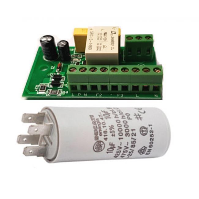 PCB and 10 Uf Cap